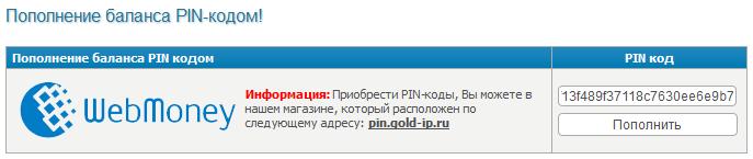 ���������� ������� Pin �����