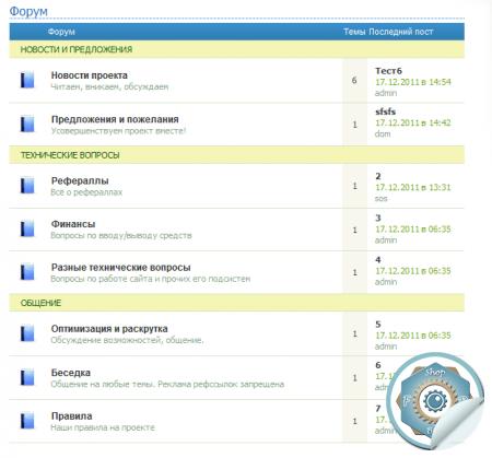 Новый форум под MFS, SoooFast и SeoEdit