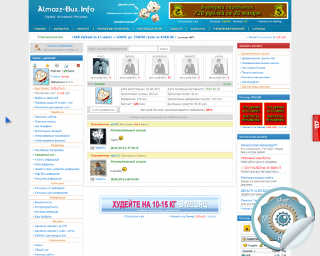 Скрипт сайта Amazz Bux