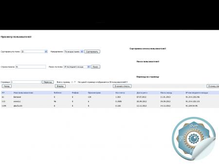 IP последнего входа в админке для Seoedit