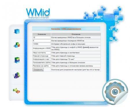 """Скрипт """"WMID информеры"""""""